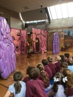 The Kinetic Thestre visits Largymore P.S.