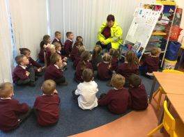 Visit from our Lollipop Lady