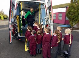 Visit from St John Ambulance