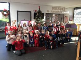 Christmas fun in P4